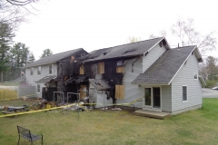 Insurance Investigation: Partially Fire Damaged Building